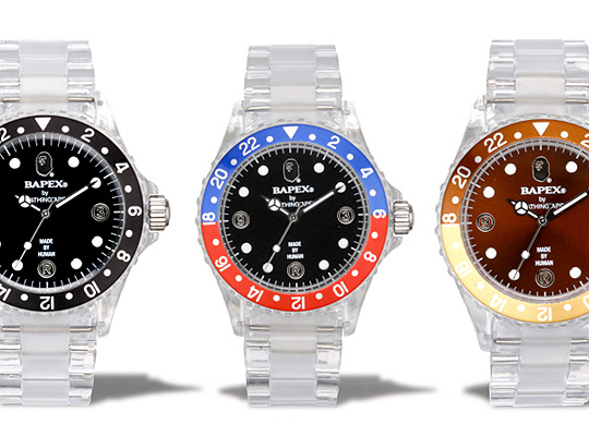 Bape Holiday 2009 Bapex Clear New Colorways K3n S Blog