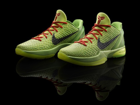 "Nike Zoom Kobe VI Christmas Day ""Green Means Go"" 